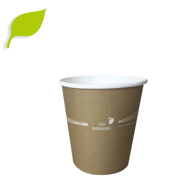 vaso de carton biodegradable ecologico 7oz