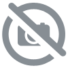 Mantel papel damasco blanco rollo 1.18x100 m